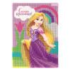 """Алмазная мозаика для детей """"Самая красивая"""" Принцессы Рапунцель 10х15"""