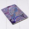 """Блокнот стразами """"Стрекоза"""". Алмазная мозаика на обложке, 50 стр., А5"""