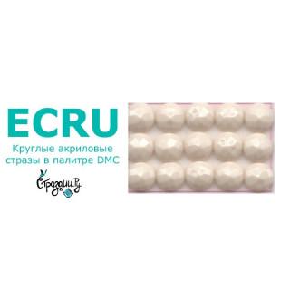 Стразы DMC Ecru / 3868 круглые для алмазной мозаики 1,4 г