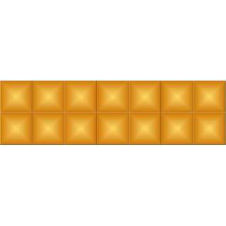 Стразы для алмазной вышивки DMC 742 квадратные 200-220 шт