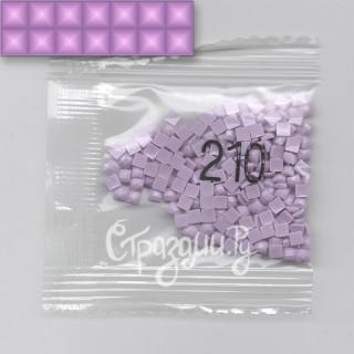 Стразы для алмазной вышивки DMC 210 квадратные 200-220 шт