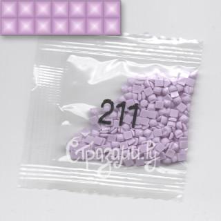 Стразы для алмазной вышивки DMC 211 квадратные 1,4 г