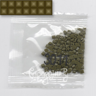 Стразы для алмазной вышивки DMC 3011 квадратные 1,4 г