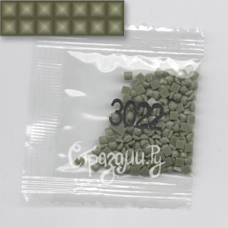 Стразы для алмазной вышивки DMC 3022 квадратные 200-220 шт