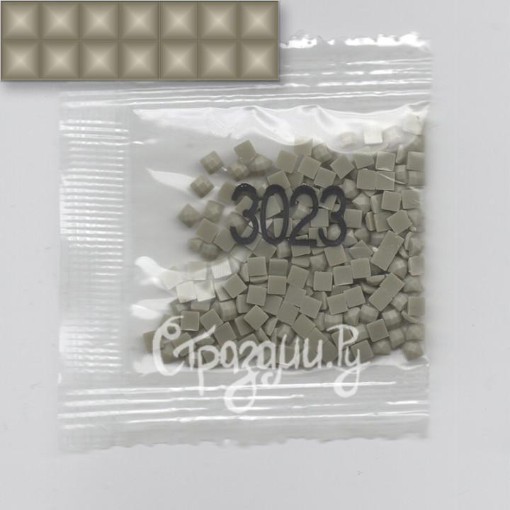 Стразы для алмазной вышивки DMC 3023 квадратные 200-220 шт