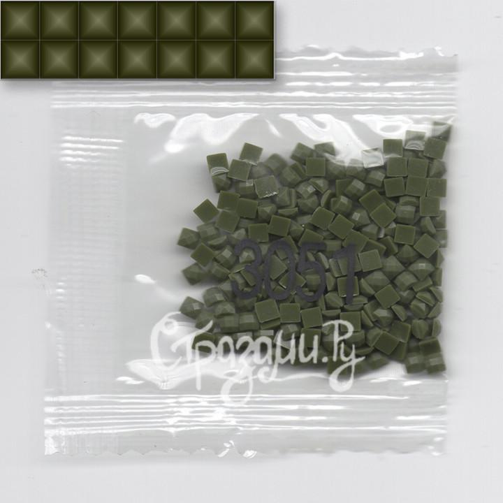 Стразы для алмазной вышивки DMC 3051 квадратные 1,4 г