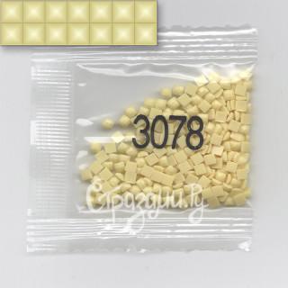 Стразы для алмазной вышивки DMC 3078 квадратные 1,4 г