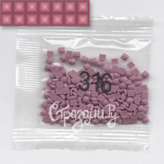 Стразы для алмазной вышивки DMC 316 квадратные 1,4 г
