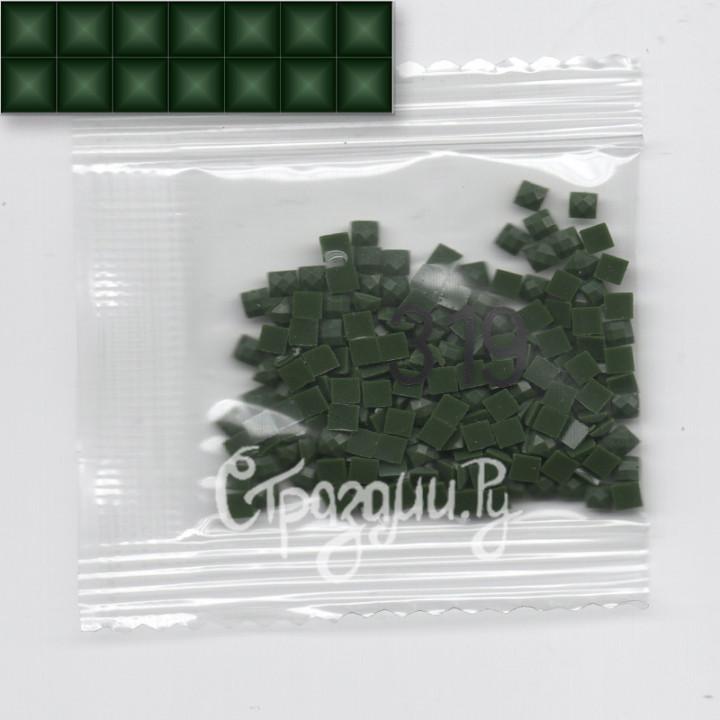 Стразы для алмазной вышивки DMC 319 квадратные 1,4 г
