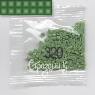 Стразы для алмазной вышивки DMC 320 квадратные 200-220 шт