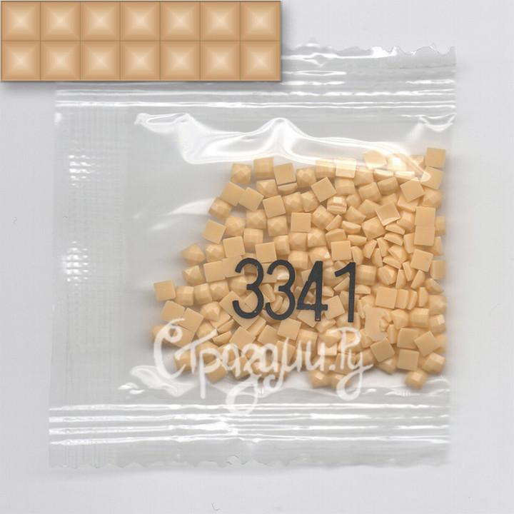Стразы для алмазной вышивки DMC 3341 квадратные 200-220 шт