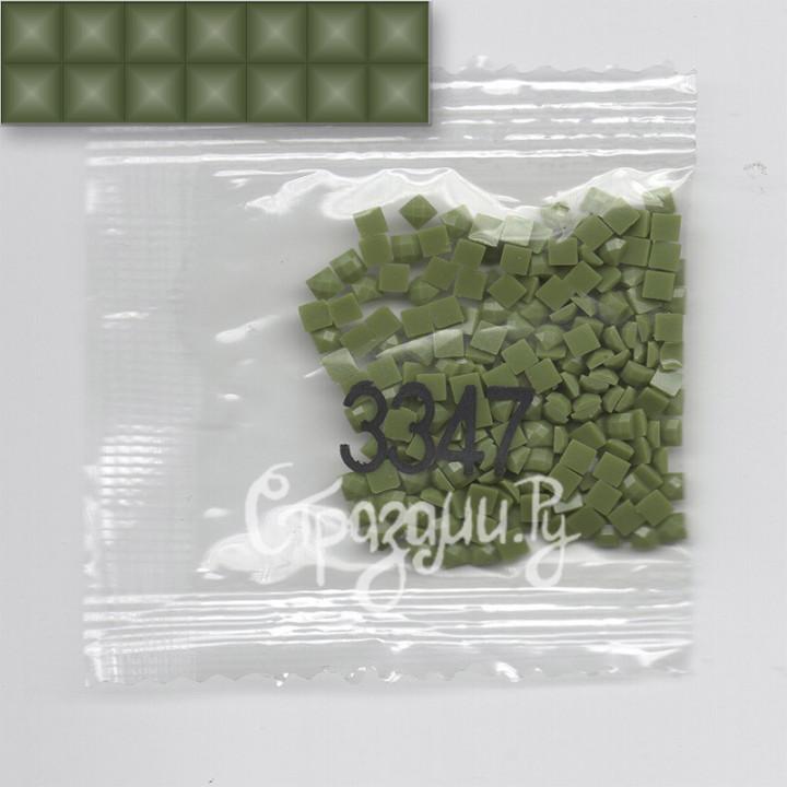 Стразы для алмазной вышивки DMC 3347 квадратные 200-220 шт