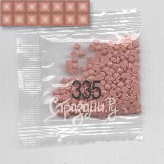 Стразы для алмазной вышивки DMC 335 квадратные 1,4 г