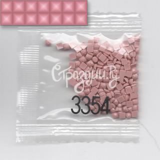 Стразы для алмазной вышивки DMC 3354 квадратные 200-220 шт