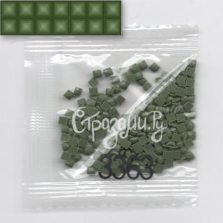 Стразы для алмазной вышивки DMC 3363 квадратные 1,4 г