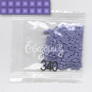 Стразы для алмазной вышивки DMC 340 квадратные 200-220 шт