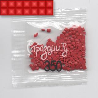 Стразы для алмазной вышивки DMC 350 квадратные 1,4 г