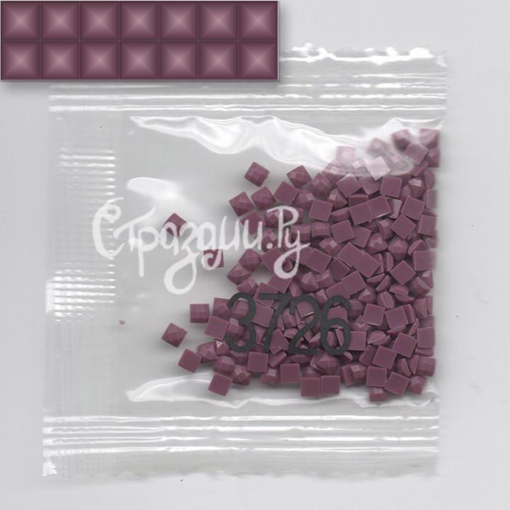 Стразы для алмазной вышивки DMC 3726 квадратные 1,4 г