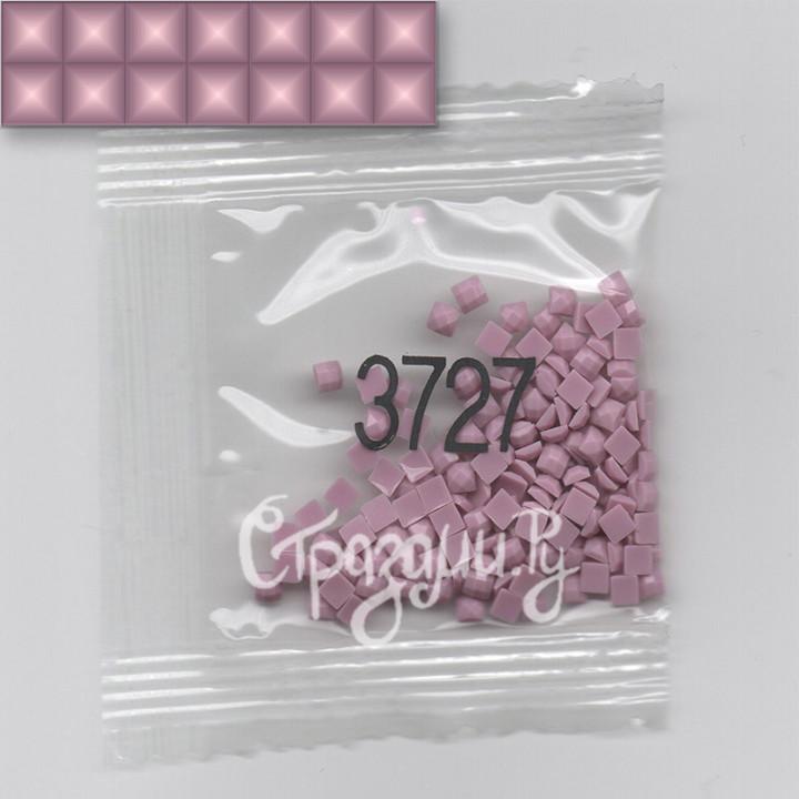 Стразы для алмазной вышивки DMC 3727 квадратные 1,4 г