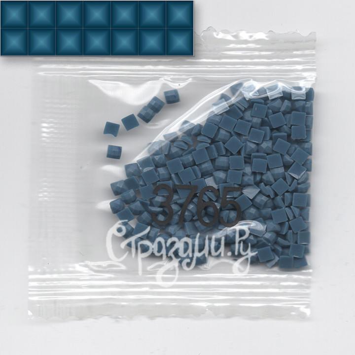Стразы для алмазной вышивки DMC 3765 квадратные 1,4 г