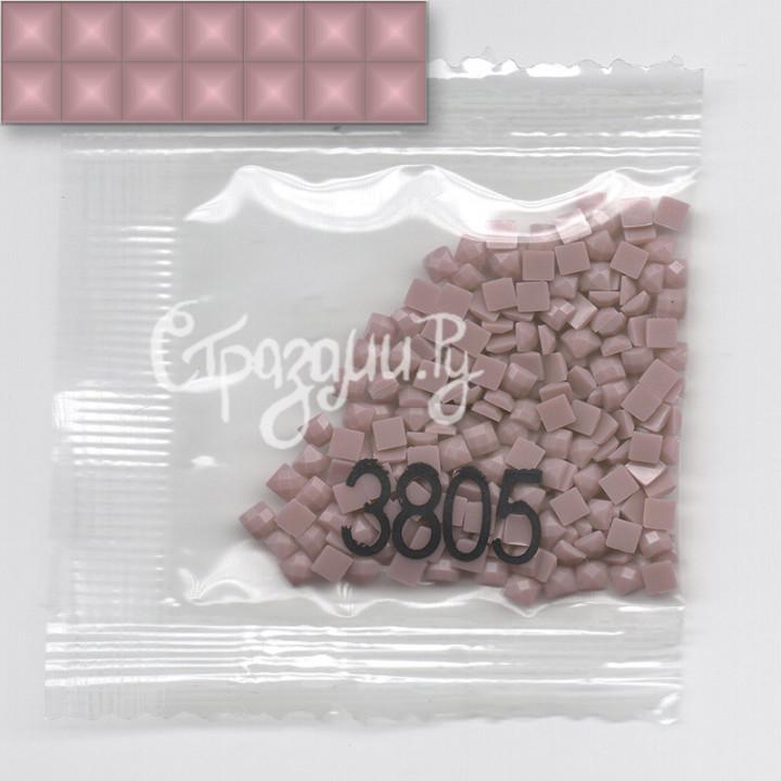 Стразы для алмазной вышивки DMC 3805 квадратные 1,4 г