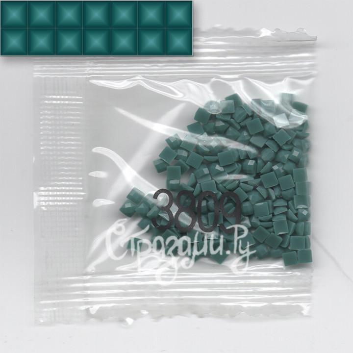 Стразы для алмазной вышивки DMC 3809 квадратные 1,4 г