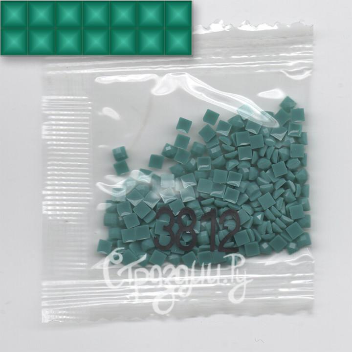 Стразы для алмазной вышивки DMC 3812 квадратные 1,4 г