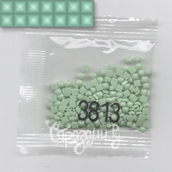 Стразы для алмазной вышивки DMC 3813 квадратные 200-220 шт