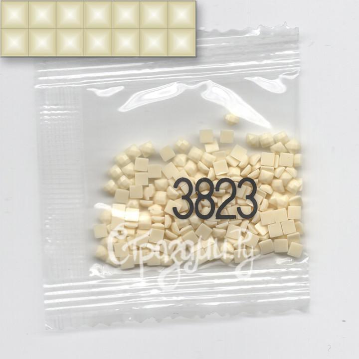Стразы для алмазной вышивки DMC 3823 квадратные 1,4 г