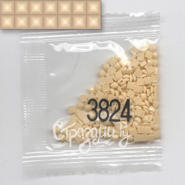 Стразы для алмазной вышивки DMC 3824 квадратные 1,4 г