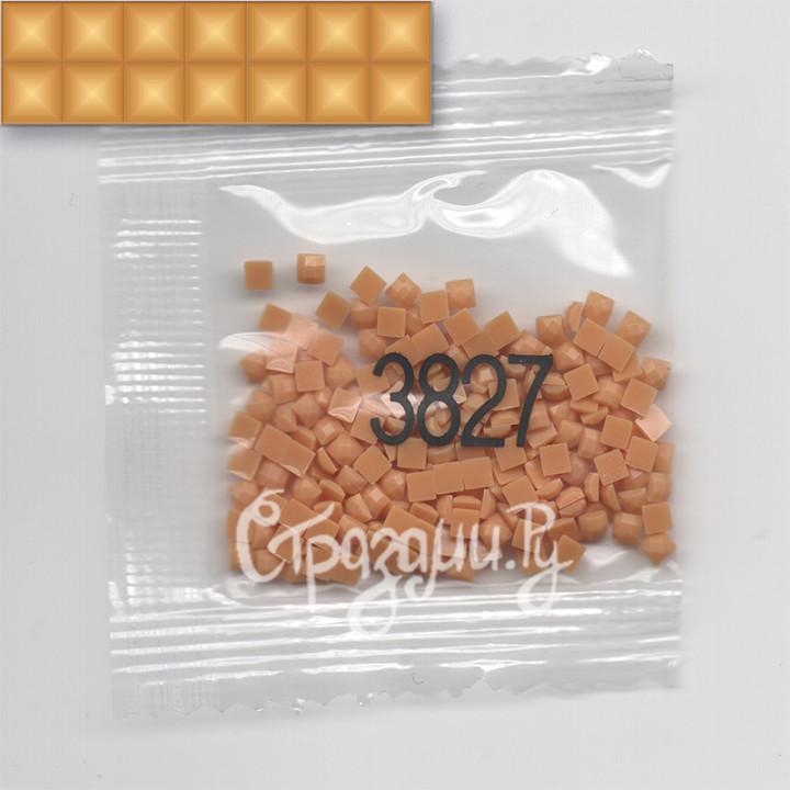 Стразы для алмазной вышивки DMC 3827 квадратные 1,4 г