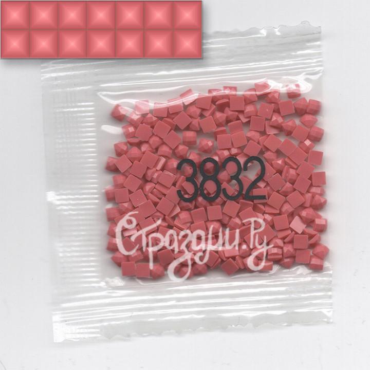 Стразы для алмазной вышивки DMC 3832 квадратные 200-220 шт