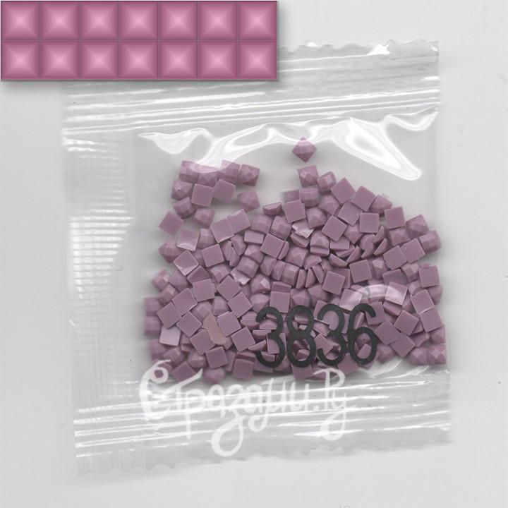 Стразы для алмазной вышивки DMC 3836 квадратные 1,4 г