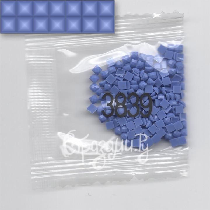 Стразы для алмазной вышивки DMC 3839 квадратные 1,4 г
