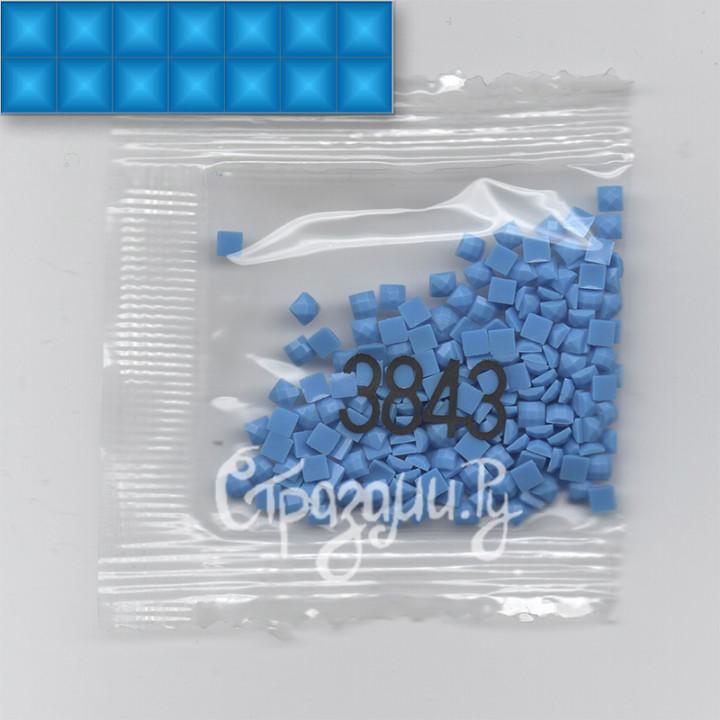 Стразы для алмазной вышивки DMC 3843 квадратные 1,4 г