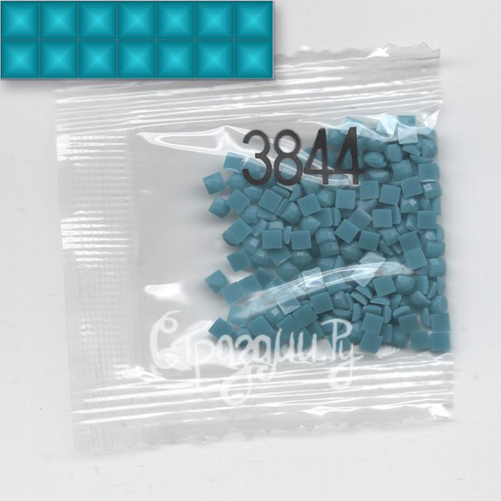 Стразы для алмазной вышивки DMC 3844 квадратные 1,4 г