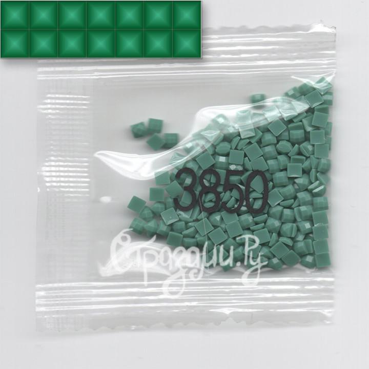 Стразы для алмазной вышивки DMC 3850 квадратные 1,4 г