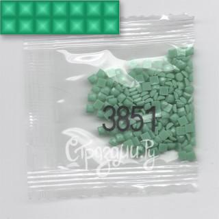 Стразы для алмазной вышивки DMC 3851 квадратные 1,4 г