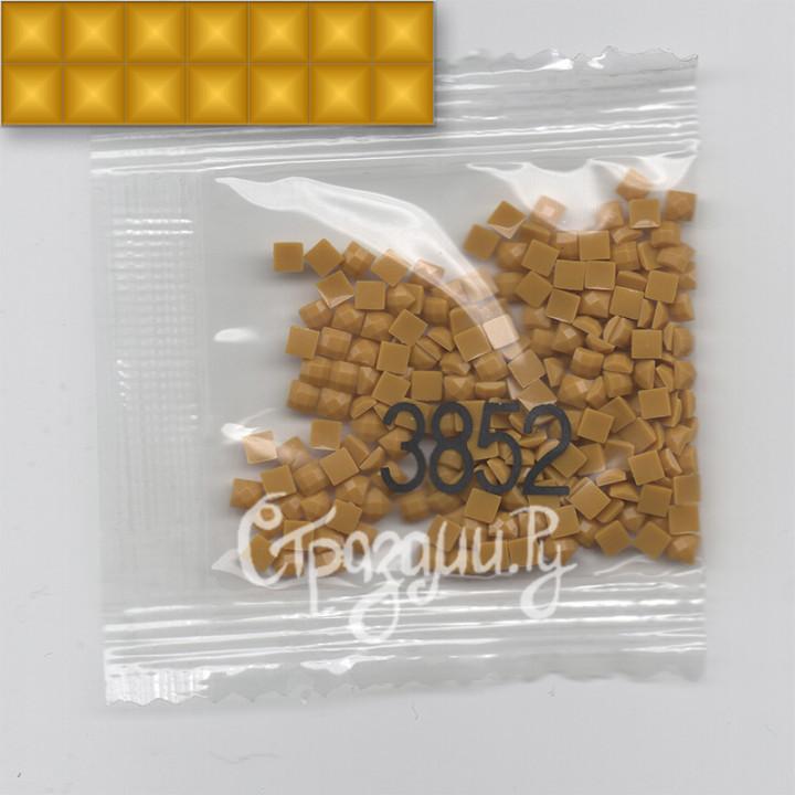 Стразы для алмазной вышивки DMC 3852 квадратные 1,4 г