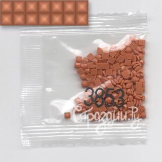Стразы для алмазной вышивки DMC 3853 квадратные 1,4 г