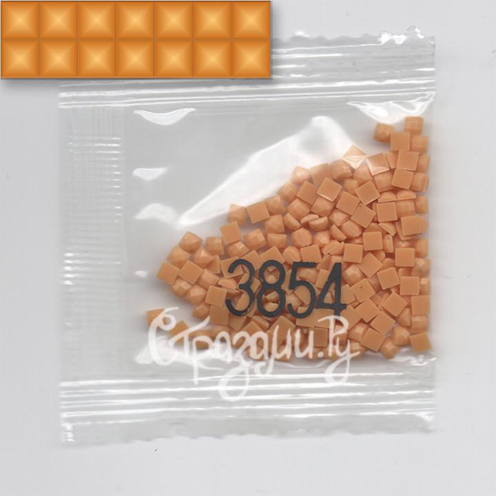 Стразы для алмазной вышивки DMC 3854 квадратные 200-220 шт