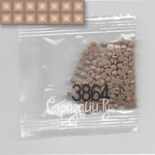 Стразы для алмазной вышивки DMC 3864 квадратные 1,4 г
