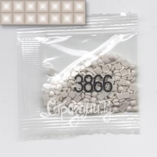 Стразы для алмазной вышивки DMC 3866 квадратные 200-220 шт