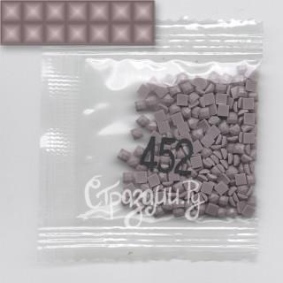 Стразы для алмазной вышивки DMC 452 квадратные 200-220 шт