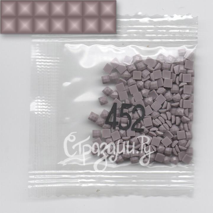 Стразы для алмазной вышивки DMC 452 квадратные 1,4 г