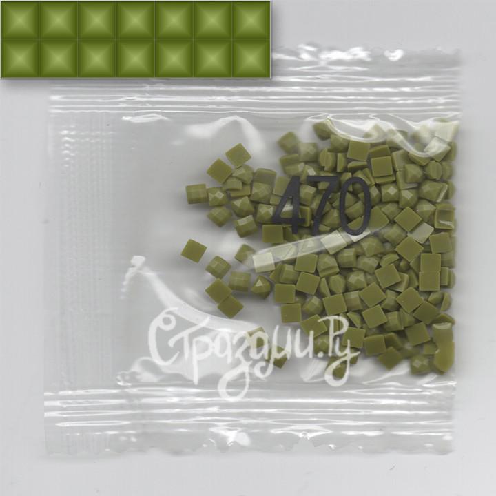 Стразы для алмазной вышивки DMC 470 квадратные 1,4 г