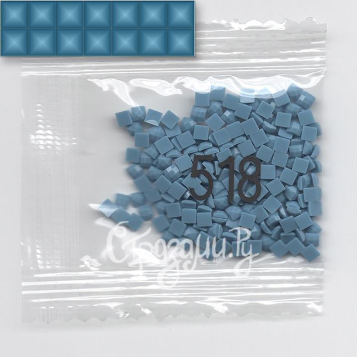 Стразы для алмазной вышивки DMC 518 квадратные 1,4 г
