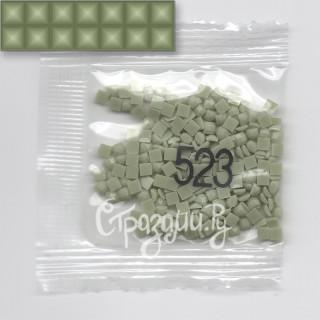 Стразы для алмазной вышивки DMC 523 квадратные 1,4 г