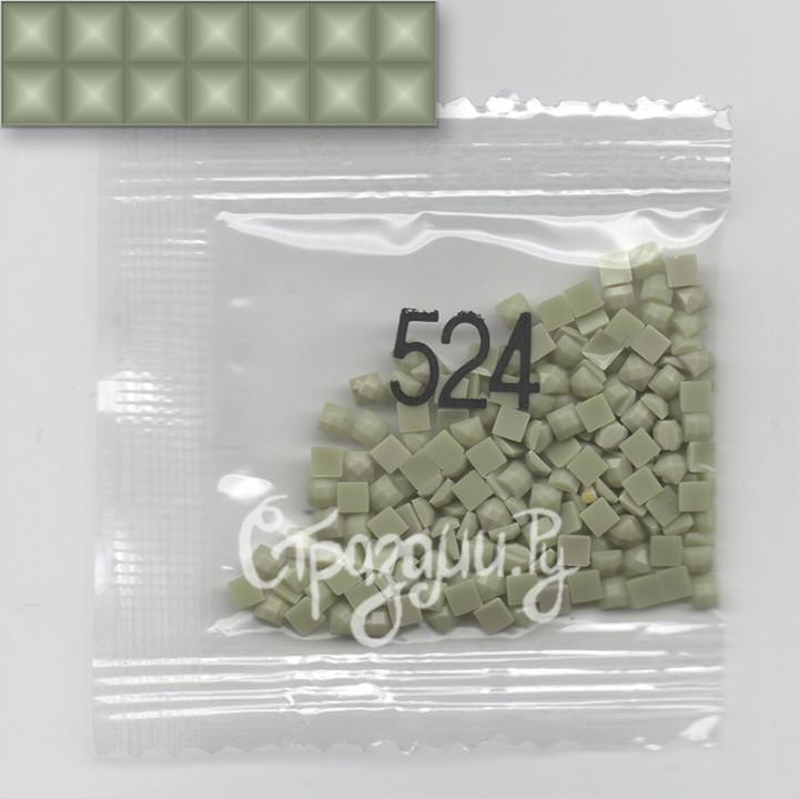 Стразы для алмазной вышивки DMC 524 квадратные 1,4 г