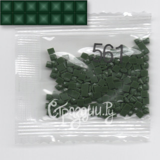 Стразы для алмазной вышивки DMC 561 квадратные 1,4 г